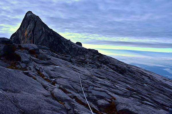 The ugly sister peak, Mount Kinabalu.