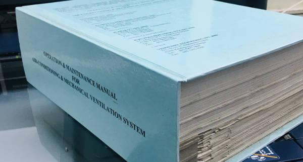 Book Binding style: Contract Binding