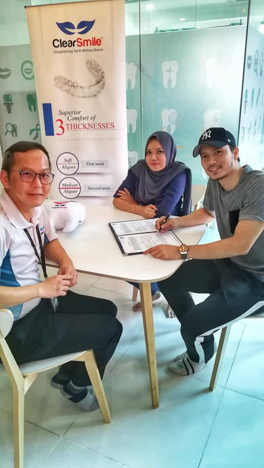 Fattah Amin teaming up with Medissa clinic and ClearSmile.