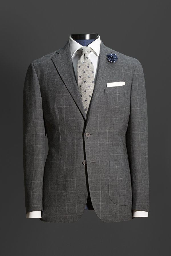 Classic grey suits