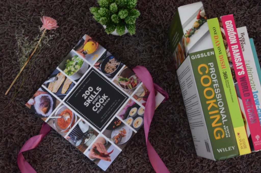 Some of my favourite Culinary books that i have collected over the years.