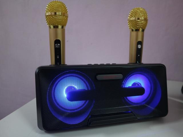 SDRD SD-301 portable Bluetooth speaker for Christmas celebration
