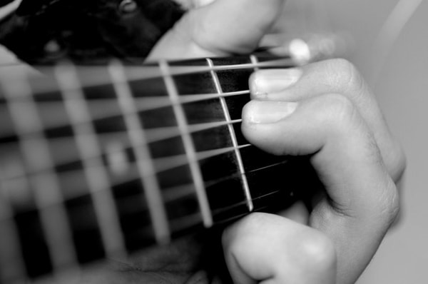 Learning music, guitar
