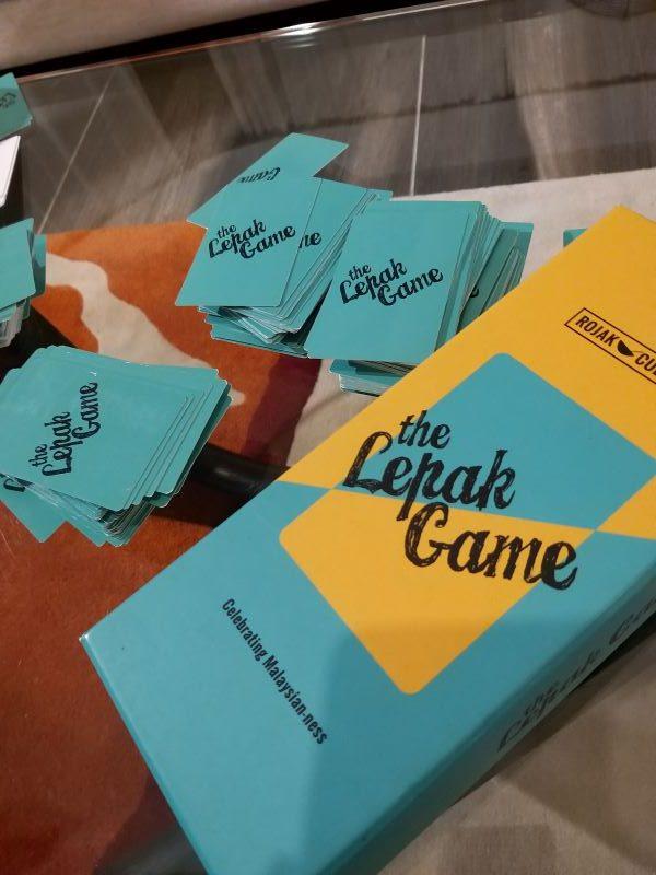 """Lepak Game"" card game"