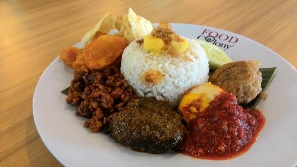 Malaysian staple food Nasi Lemak
