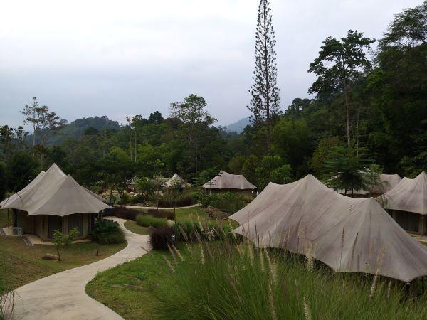 Glamping tents in Tiarasa
