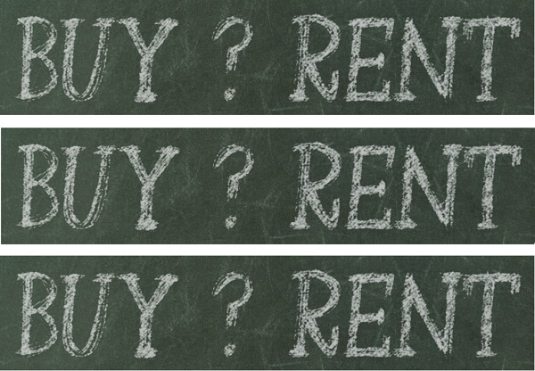Renting or buying? A habit you need to change after including some considerations.