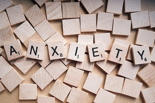 Anxiety is like a mind puzzle.