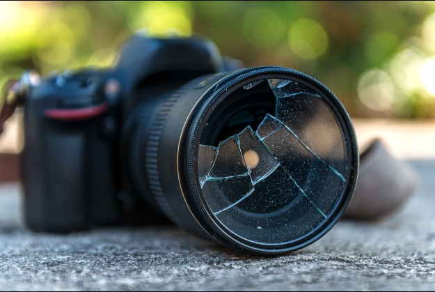 Broken camera, an example of things that might happen while renting out your stuff.