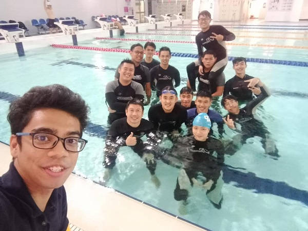 Gin Hai and Kee Tzuen have partnered together to mentor leaders at D Swim Academy.