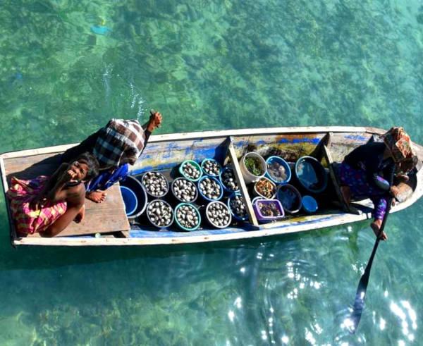 The wandering sea gypsies of Mabul