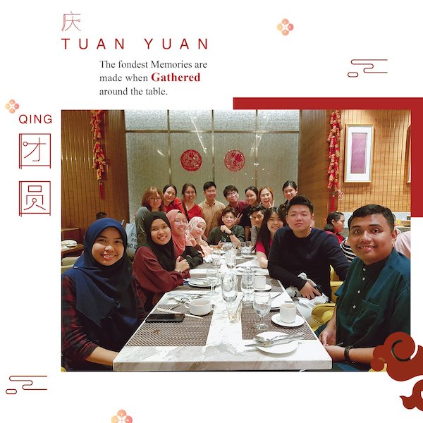 Writer Atiqah's first company dinner with her colleagues after being a fresh graduate for 5 months