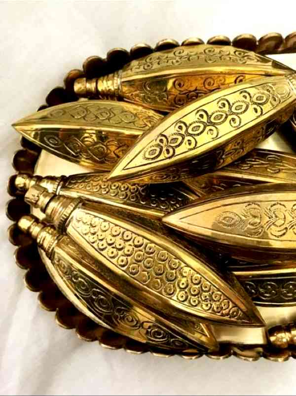 Brass kohl casing from Saffron & Rose