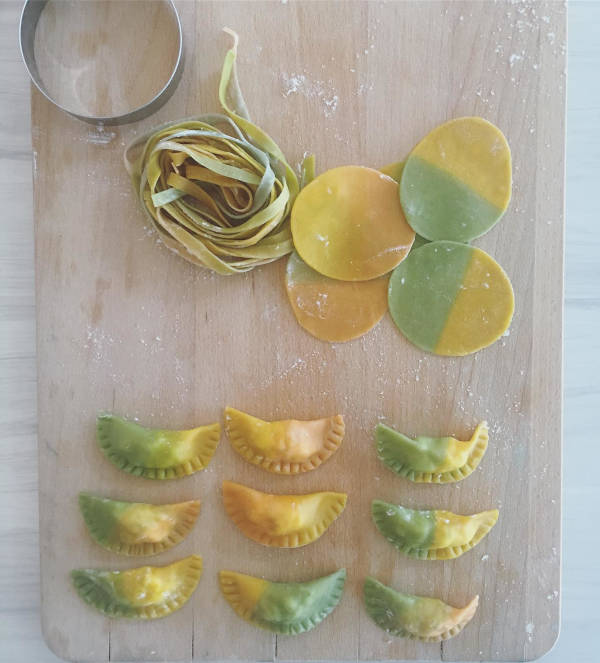 Cooking made even more fun with naturally coloured pasta