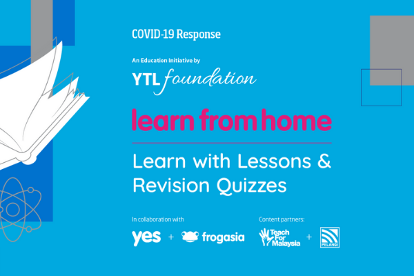Students can continue to learn from home through this initiative by YTL Foundation