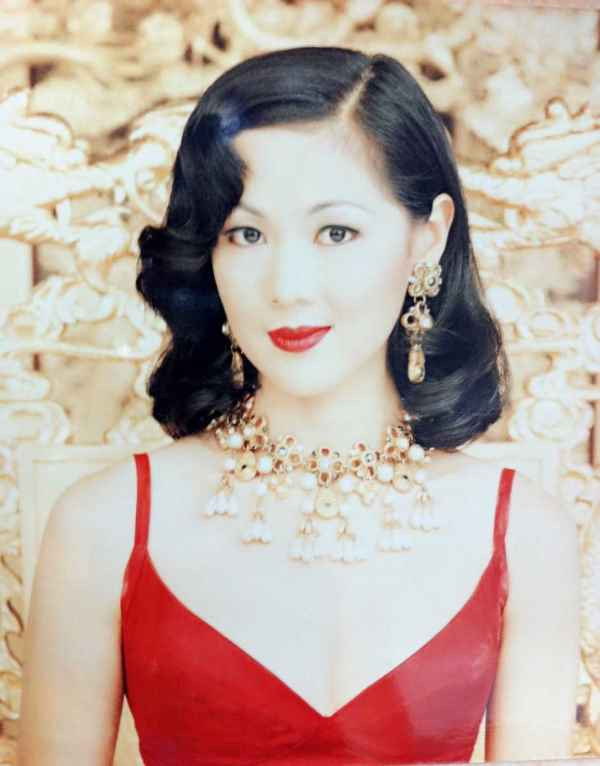 Carol Lee in a beauty magazine