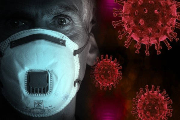 man wearing mask and virus, and how it is affecting dental healthcare