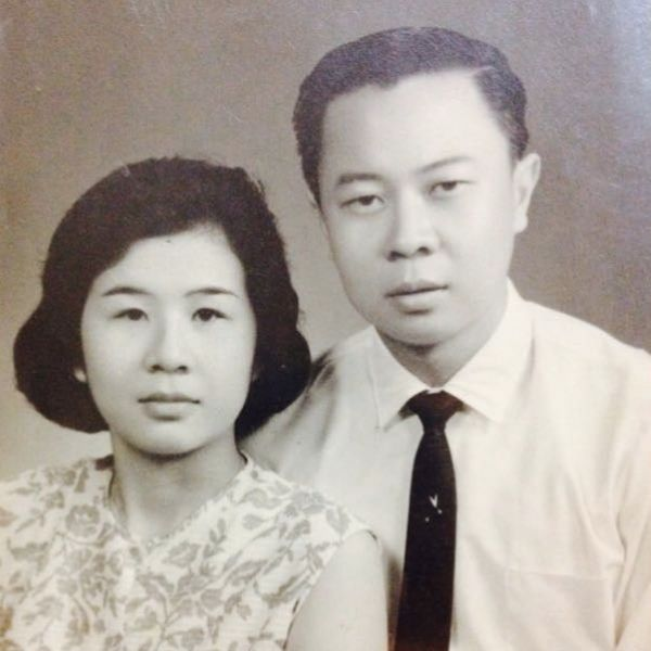 My grandparents grew up in traditional Peranakan families.