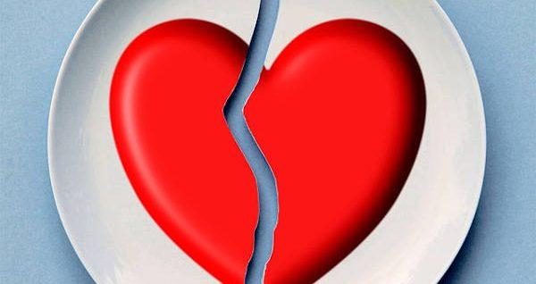 My heart felt like it split into two when I broke up