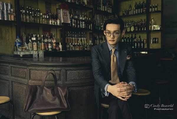 Sky Ng, bespoke tailor of Gent's Props