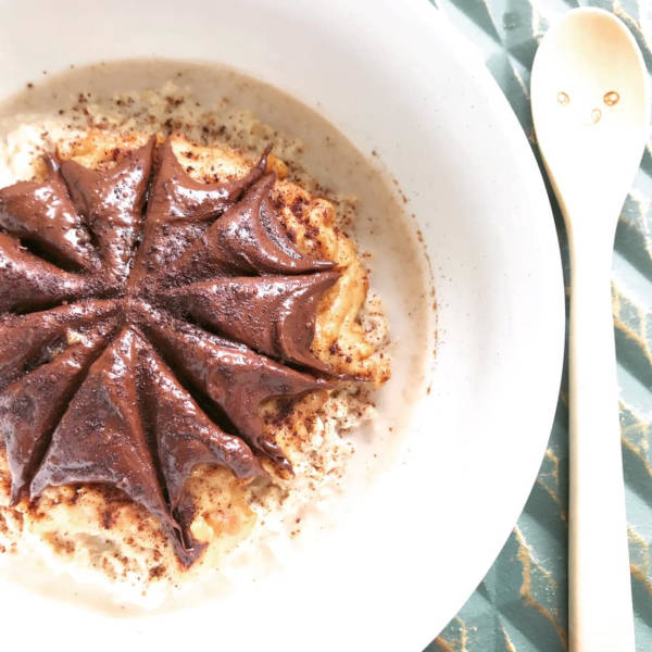 chocolate oatmeal PB