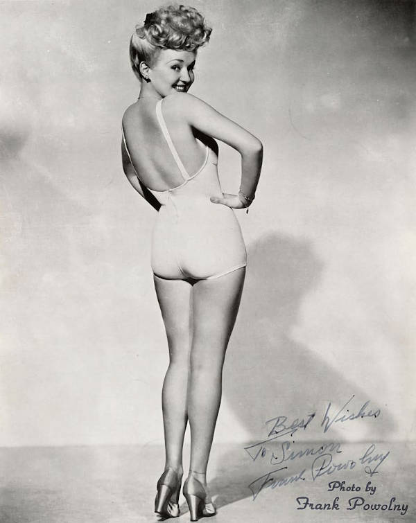 This photograph ended up giving Betty the nickname: Million Dollar Legs. This photograph also ended up being the face of glamour modelling.