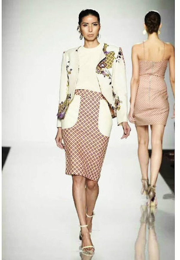 Eleen Yong, who has been a catwalk model for ten years, first started going international in Milan.
