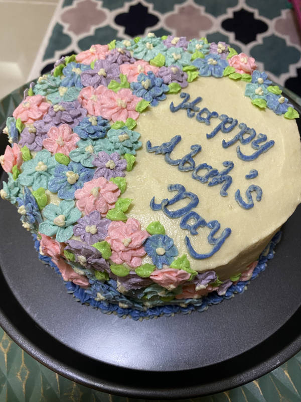 father's day cake by masterchef shahida