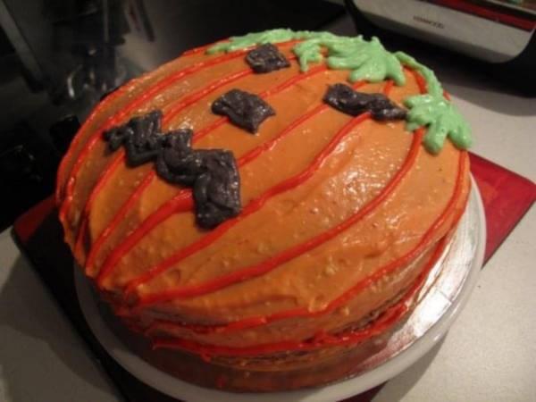 masterchef pumpkin cake