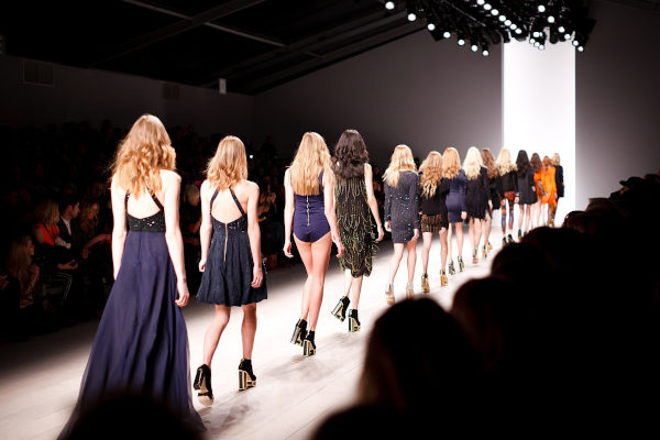 Catwalk models have very precise measurements to ensure they fit the standard measurements of the designer's clothes.