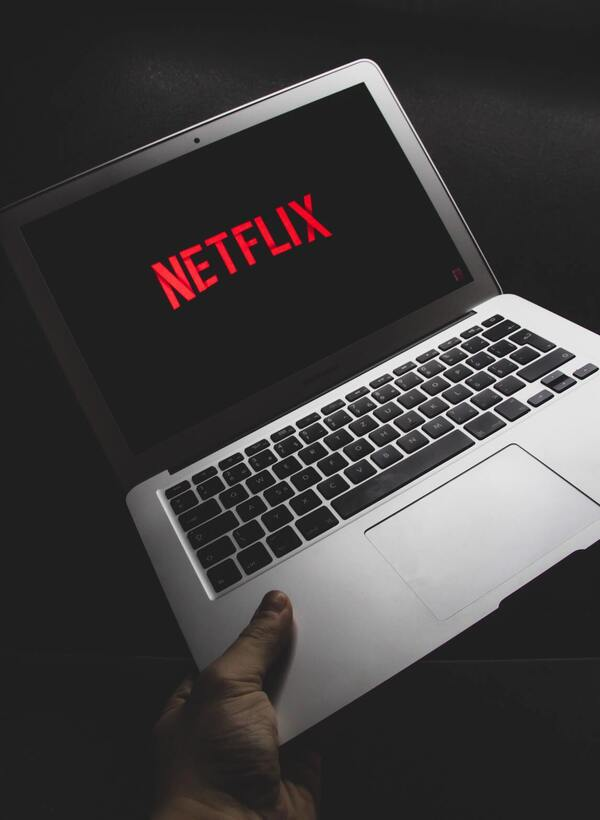 Netflix is a streaming service that offers TV shows, movies, documentaries, etc.