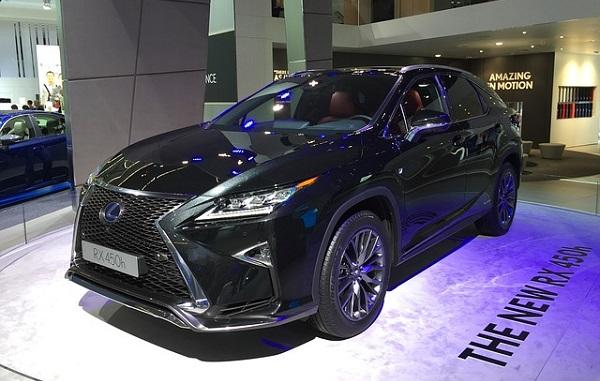 Lexus rx450h Hybrid Electric Vehicle