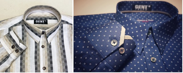 Linen and cotton collared shirts for the casual look.