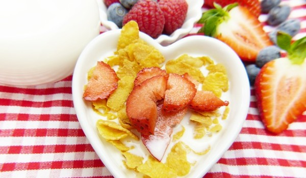Cornflakes for breakfast was regarded as healthy by the public.