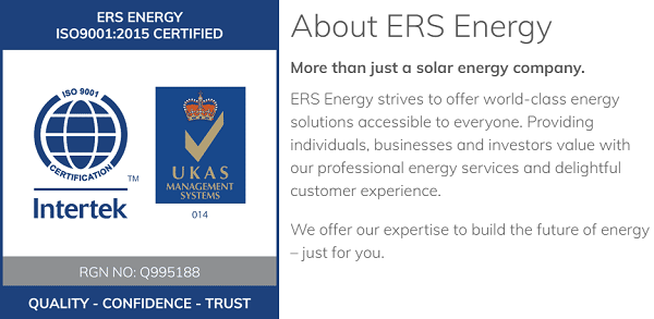 ERS Energy, the biggest large-scale solar builder in Malaysia