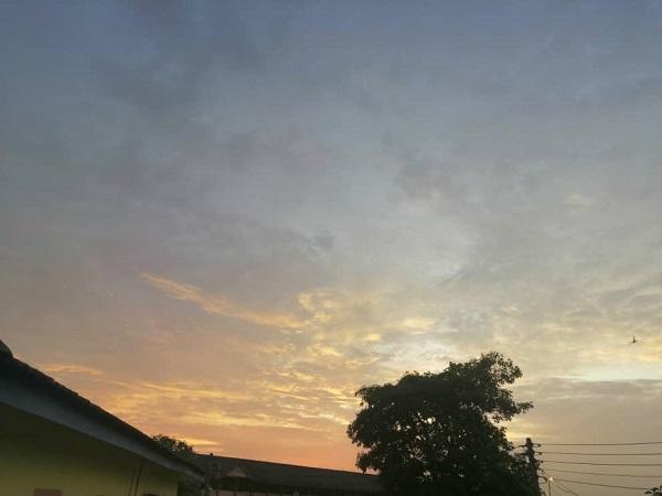 MCO sunset