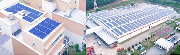 Residential and commercial solar projects by ERS Energy