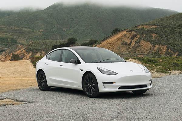Model 3 Tesla car