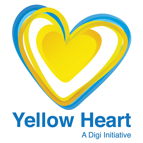 Yellow Heart is a Digi Initiative that educates our community about cyber security online.