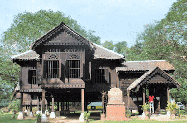 Architecture Conservation: A photo of Rumah Tok Su, the built heritage that Atiqah studied and documented during her studies in January 2018.