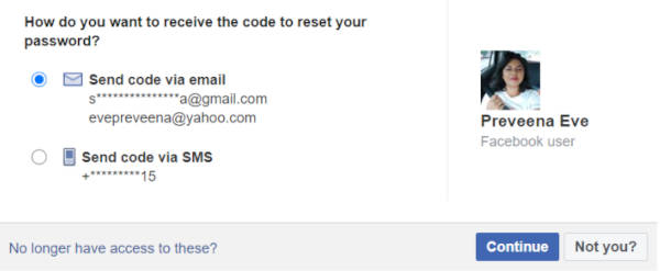 After you are certain, you have been hacked .You can click on the reset password button. Facebook will then bring you to this page so you can reset your password.