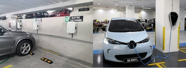 Installing Level 2 chargers at Robert Bosch (M), Penang and the National Palace, KL.