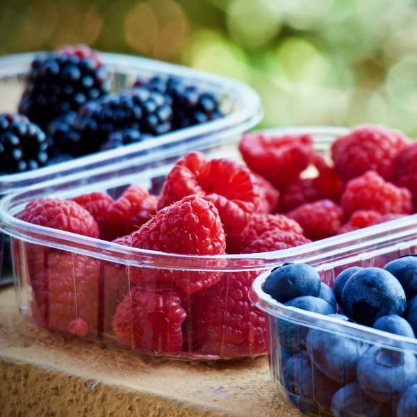 Berries are colorful, juicy, antioxidant-rich, refreshing, and keto-friendly…assuming you don't eat two whole cartons all at once!