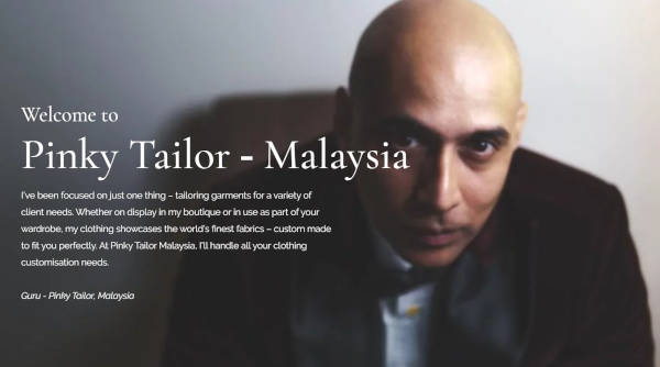 The Pinky Tailor Malaysia official website will captivate you with details of their fabulous work and services. They have clear vision on what they offer which is a honesty you can't get anywhere else. If you're looking for an outfit to make a good first impression, look no further.