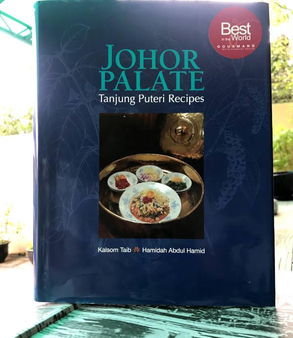 The award-winning cookbook on Johor cuisine