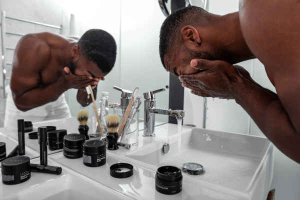 Grooming is knowing what products are suitable for your skin type. It's less about quantity and more about quality when it comes to men's grooming.