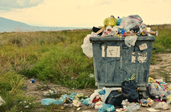 Waste continues to pile up as man continues to expand their territory