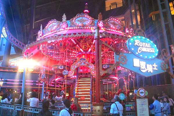 A carousel in Genting Highland, one of the destinations on my heritage road trip.
