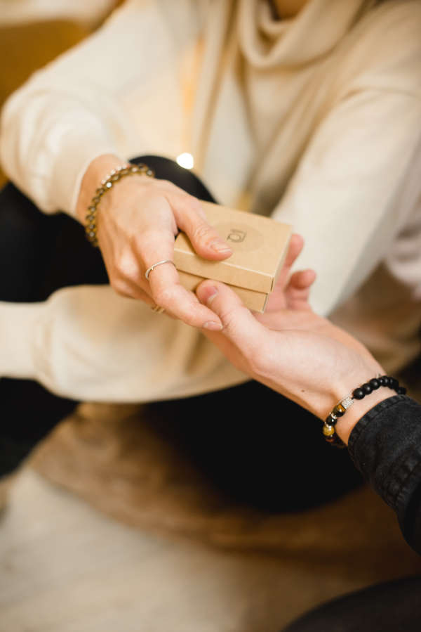 The love language of gift-giving doesn't necessarily mean needing to gift expensive presents. Remember, what counts more is the thought and sentimentality behind it.