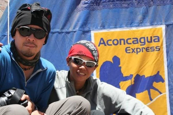 Team members Captain Zabil Ihram Zainol and Stephanie Chok were the two who managed to climb higher than the rest on the Climb With Pride Aconcagua team, an expedition to raise cancer awareness.